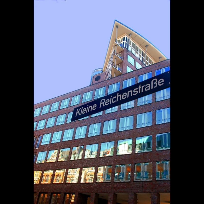 Kleine Reichenstraße in Hamburg