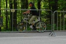 Vierrad-Tandem beim Kesselbergrennen
