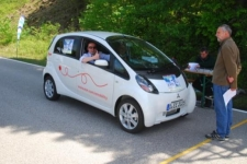Mitsubishi iMiEV am Start