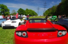 Großes Tesla-Treffen am Kochelsee