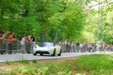 Tesla-Rennen - 1. und letzter Lauf - MB E 215