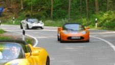 Rückkehr der Tesla Roadsters - Startnummer 20 und 07