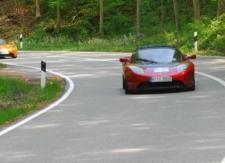 Rückkehr der Tesla Roadsters - Startnummer 36 und 23
