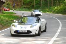Rückkehr der Tesla Roadsters - Startnummer 60, 61, 62