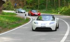 Rückkehr der Tesla Roadsters - Startnummer 61, 62, 63