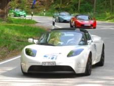 Rückkehr der Tesla Roadsters - Startnummer 61, 62, 63, 64