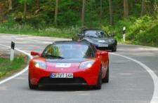 Rückkehr der Tesla Roadsters - Startnummer 67 und 69
