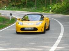 Rückkehr der Tesla Roadsters - Startnummer 68